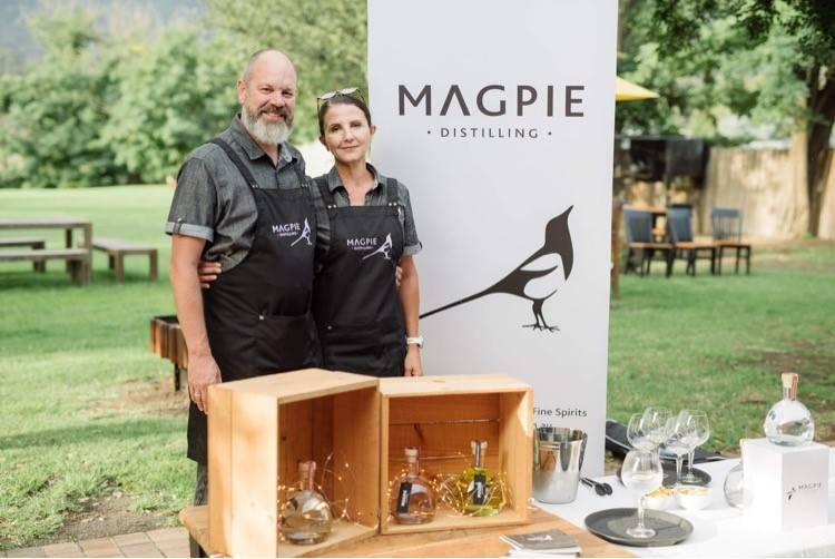 AWARD WINNING GIN: Boutique gin makers Geoff and Nikki Drummond made the transition from corporate Sydney life to rural Murrurundi just over three years ago. Photo: Supplied