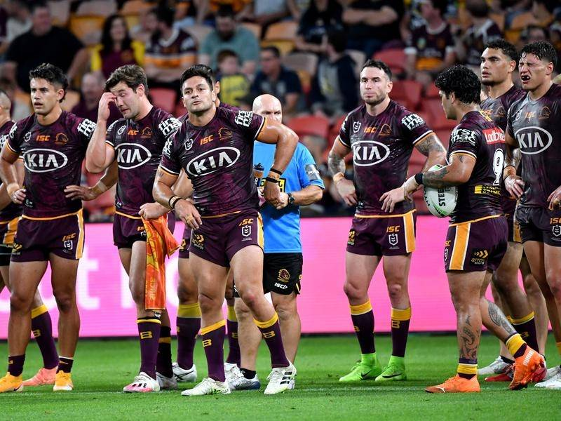 Brisbane have been consigned to the first NRL wooden spoon in their history.